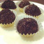 Brigadeiros – condensed milk fudge truffles
