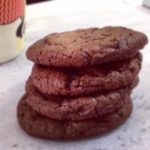 Coffee brownie cookies