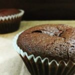 Chocolate lava muffins