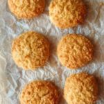 Coconut cookies #creativecookieexchange