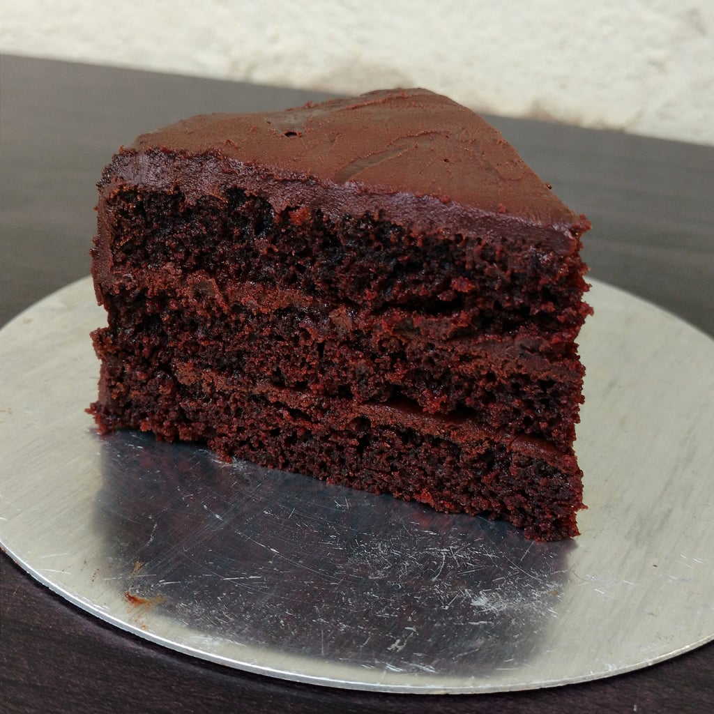 Eggless Chocolate Cake With Oil