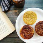 Easy Eggless Banana muffins