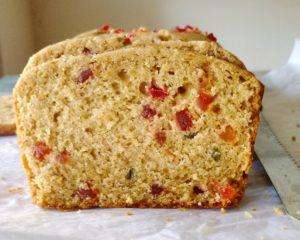 Whole wheat tutti frutti cake