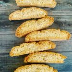 Banana walnut biscotti #3 A week of Christmas cookies