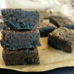 Rum and raisin brownies