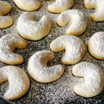 Almond crescents – #1 A week of Christmas cookies !