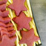 Red velvet shortbread #2 A week of christmas cookies