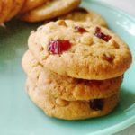 Cranberry and white chocolate cookies #5 A week of christmas cookies