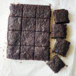 The most amazing vegan brownies