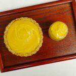 Eggless mango curd