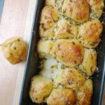 Easy pull apart garlic bread