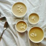 Easy eggless butterscotch pudding
