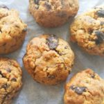 Eggless wholewheat chocolate chunk cookies