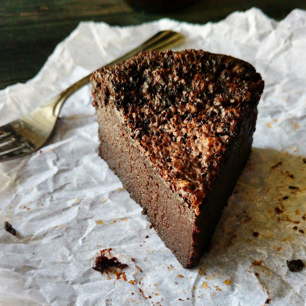 One Bowl Flourless Chocolate Cake